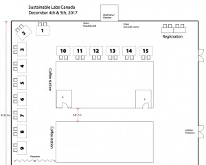 2017 SLCan Tradeshow Floorplan